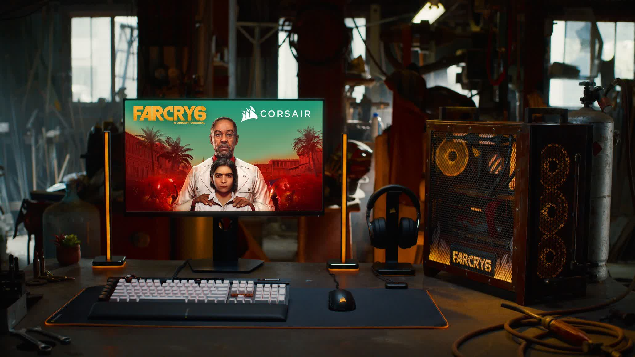 Corsair partners with Ubisoft for Far Cry 6 immersive experience, AMD-powered PC giveaway