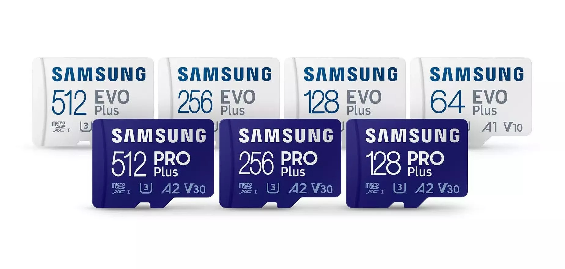 Samsung reveals its latest microSD and SD cards, now faster and more durable